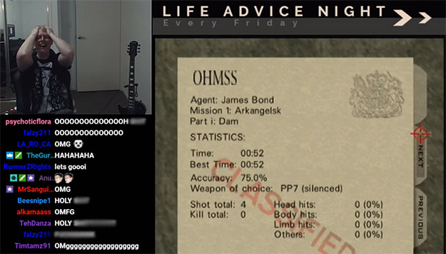 Speedrunner breaks 15-year-old GoldenEye 007 record