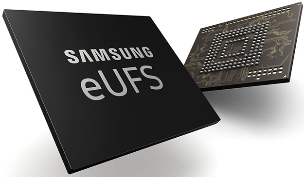 Samsung starts production of world's first 512GB embedded flash storage