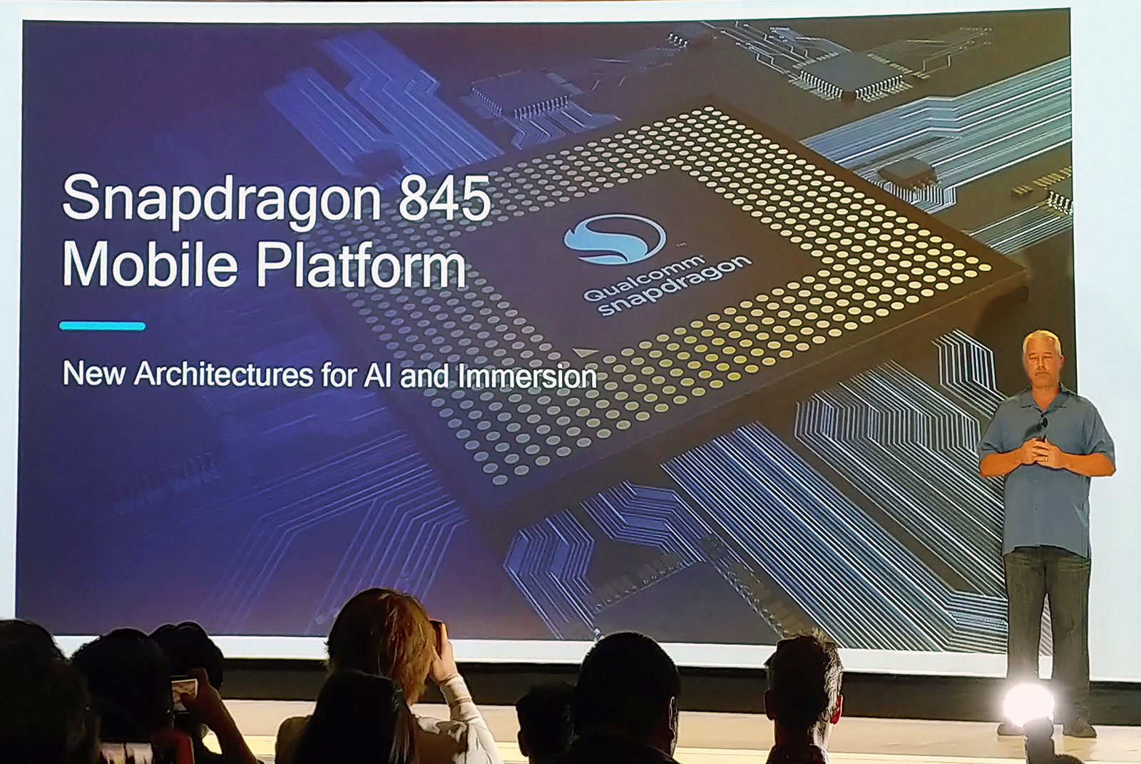Qualcomm Snapdragon 845 Boosts CPU And GPU Performance, Delivers 4K HDR Capture, 3X Faster AI Processing