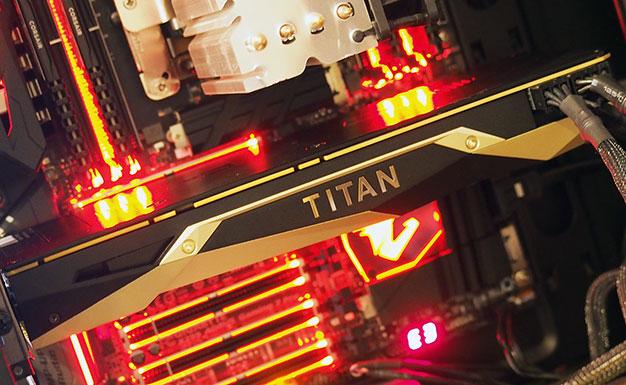 titan v installed