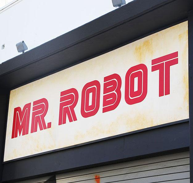 Mr Robot Sign