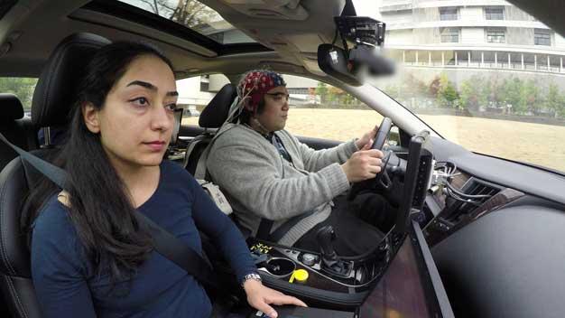 nissan brain car driver