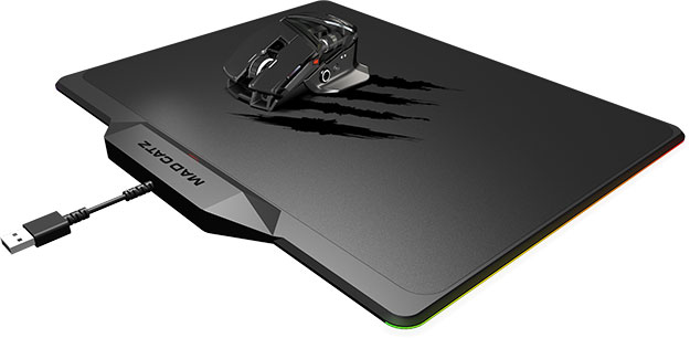 Mad Catz Mousepad and Mouse