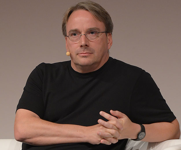 LinuxCon Europe Linus Torvalds 626px