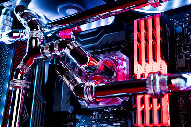 Maingear F131 Gaming PC Cooling System