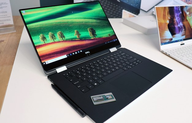 Dell XPS 15 Two In One With Intel Chip