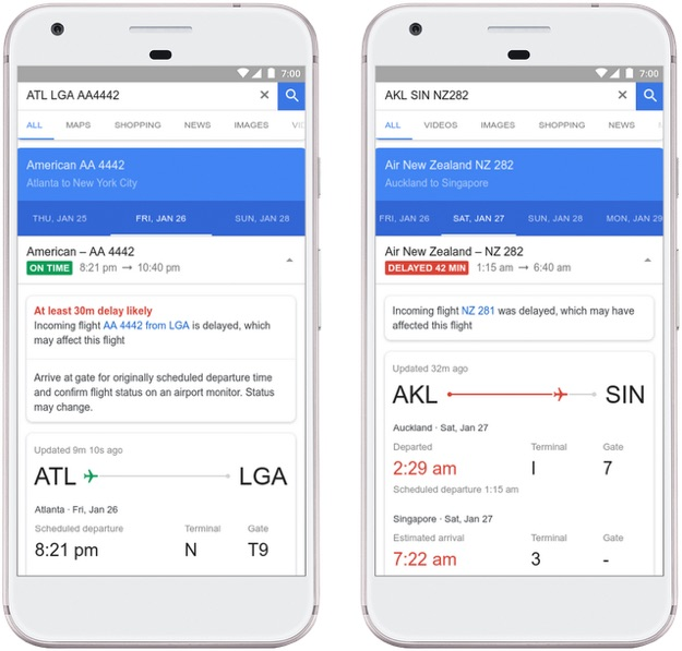 google flights app