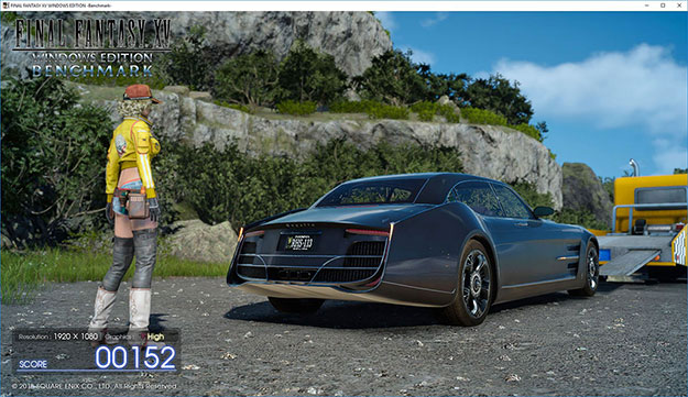 Final Fantasy XV Benchmark Screenshot