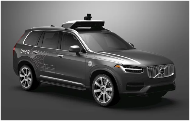 Volvo Autonomous Vehicle With NVIDIA Drive