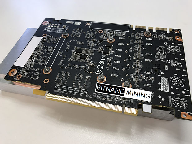 BITNAND Offers Up A Mining Optimized GTX 1060 6GB Card For