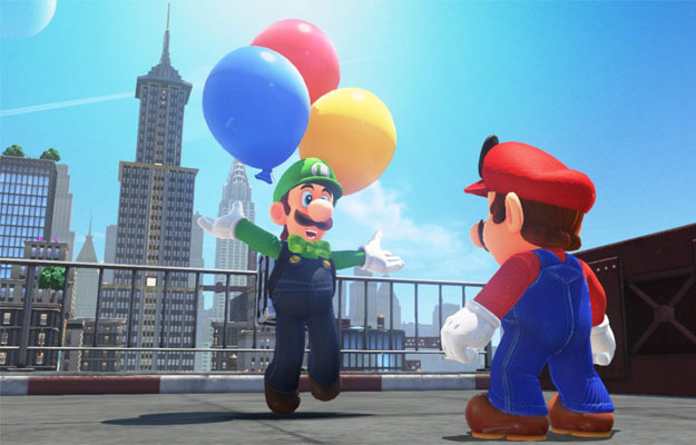Mario Odyssey's Balloon World Update is Now Live