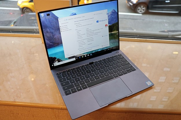 Huawei Matebook X Pro open system information