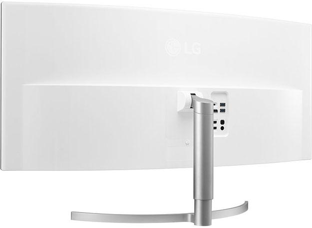LG Monitor Rear