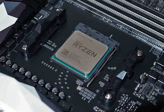 ryzen processor in socket