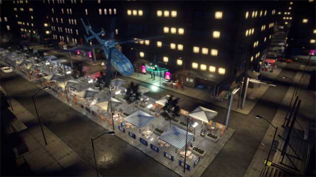 maps city night