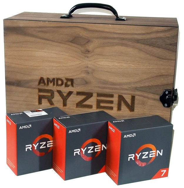 AMD Ryzen Processor Boxes
