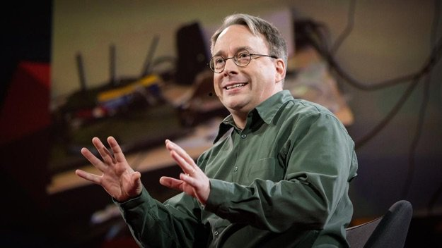 linus torvalds ted