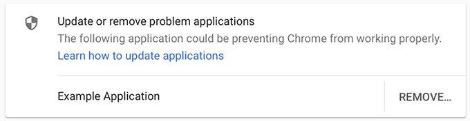 Chrome Anti injection Warning