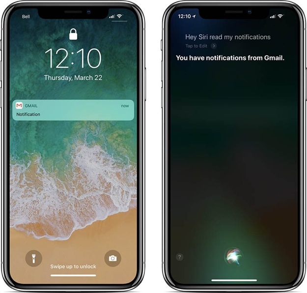 iphone x lockscreen