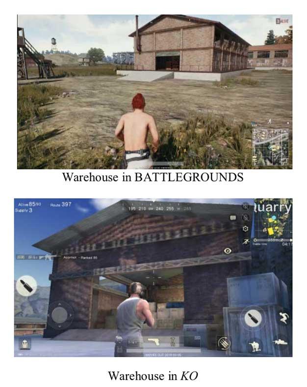 pubg suit warehouse