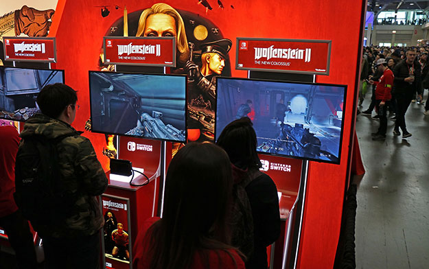 Nintendo Switch Wolfenstein 2 PAX East