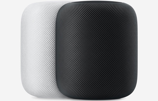 apple gray and white homepods