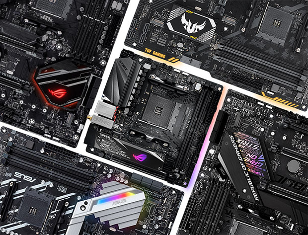 ASUS Ryzen 2nd gen Boards