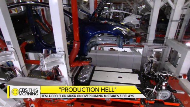 tesla model 3 production line 1