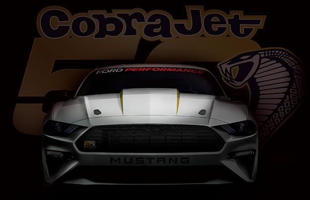 Ford announces track-only, limited-production Mustang Cobra Jet