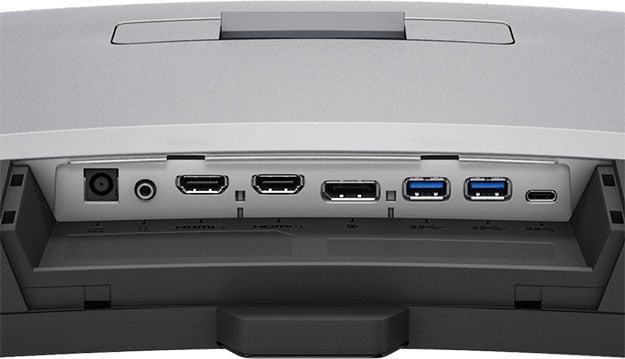 BenQ EX320R Ports