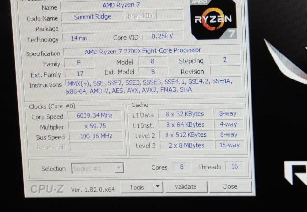 AMD Ryzen 7 2700X Overlocks To A Screaming 6GHz On LN2 And
