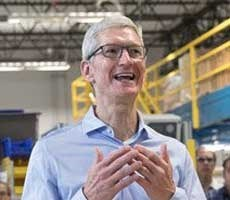 Tim Cook Says Apple Customers Don