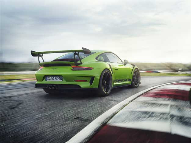 2019 Porsche 911 GT3 RS Laps The Nurburgring With Blistering