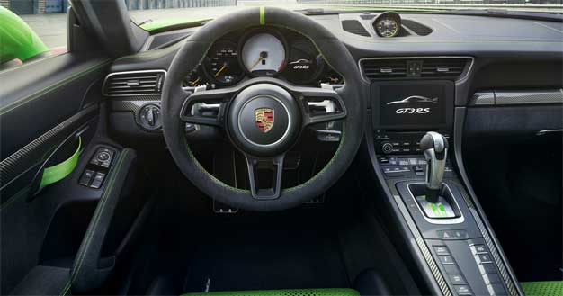 gt3 rs dash