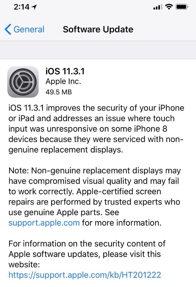 ios 1131 apple