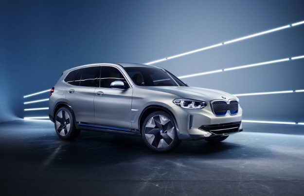 BMW Concept IX3 Crossover EV Touts 250 Mile Range, Will Fight Tesla Model X  And Jaguar I PACE