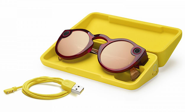 snap spectacles ruby case