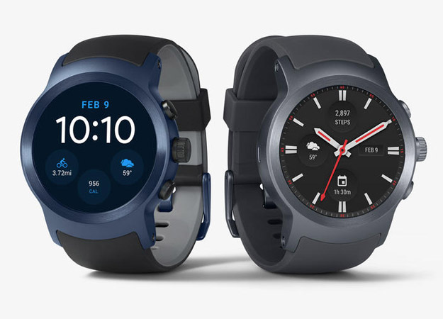 LG Watch Timepiece Hybrid Wear OS Smartwatch Leaks