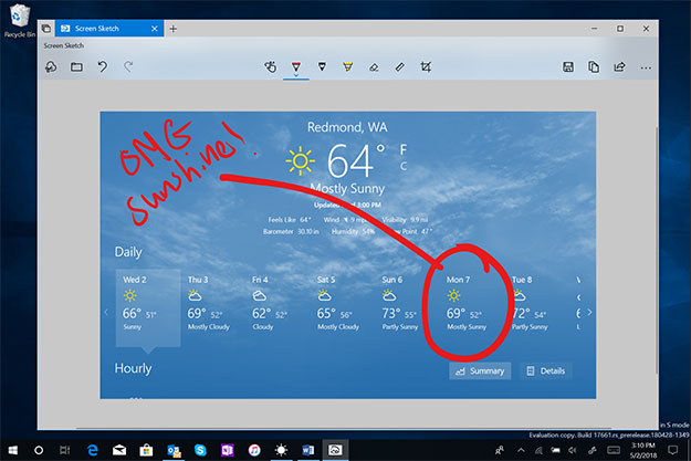 Windows Snipping