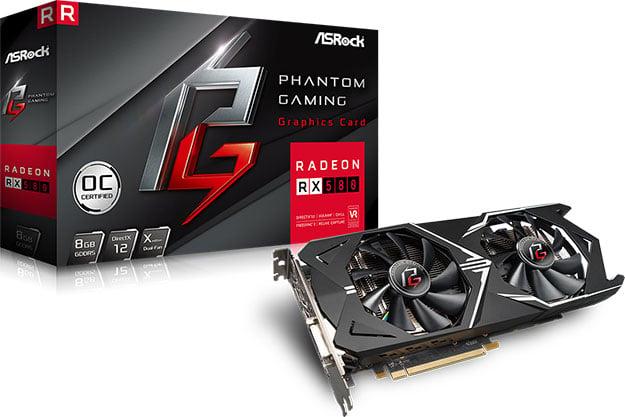 ASRock Radeon RX 580 Phantom Gaming X