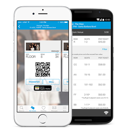 ticketmaster ios android
