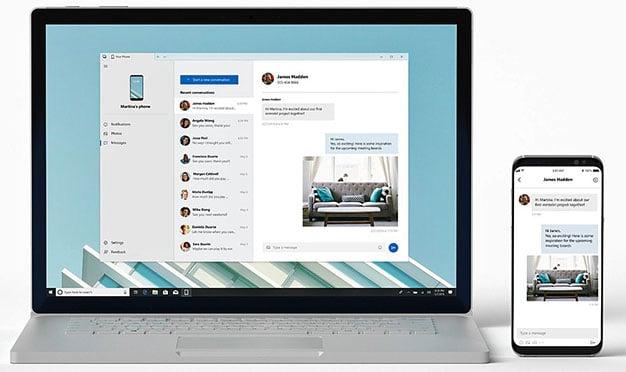 Windows 10 yourphone