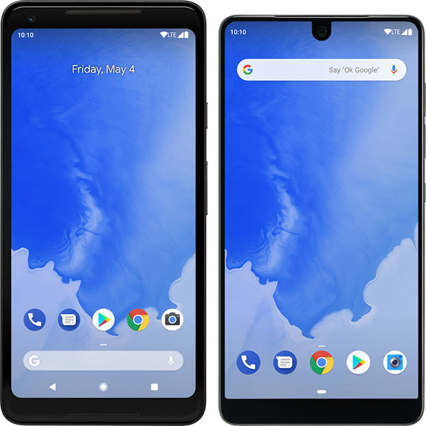 Pixel 2XL Essential Android P