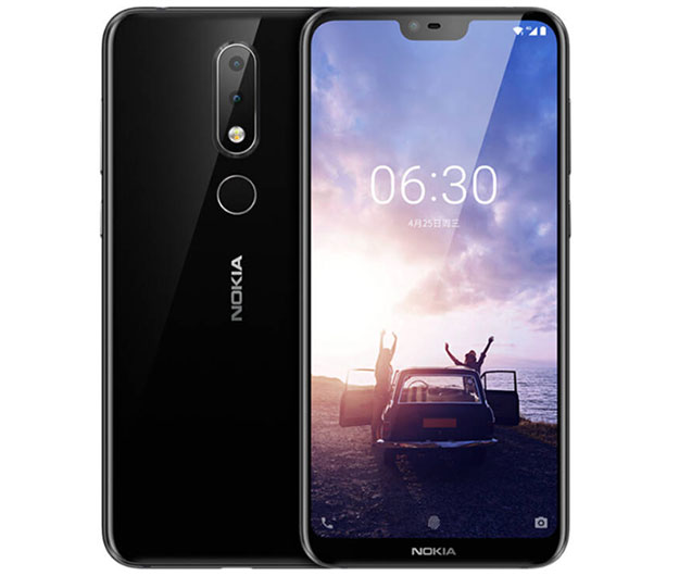 Nokia X6 launches in China with display notch