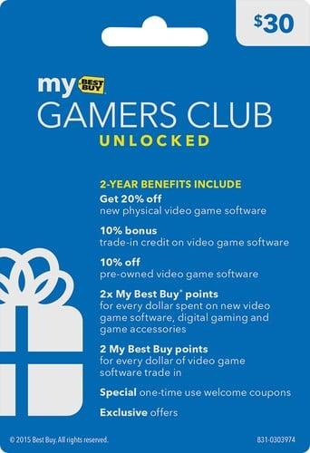 Best Buy Gamers Club