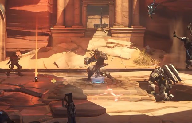 Overwatch Petra Map