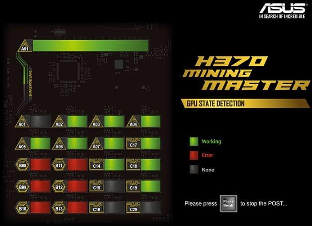 h370 mining master statedetection