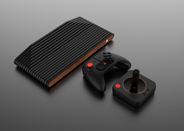 Atari VCS Family with Controllers