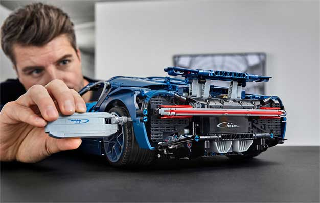 lego technic bugatti chiron kit is a 3 599 piece miniature. Black Bedroom Furniture Sets. Home Design Ideas