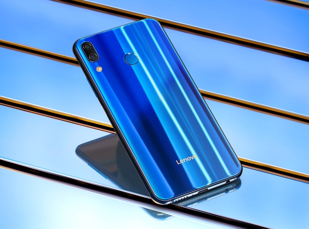 lenovo z5 blue back
